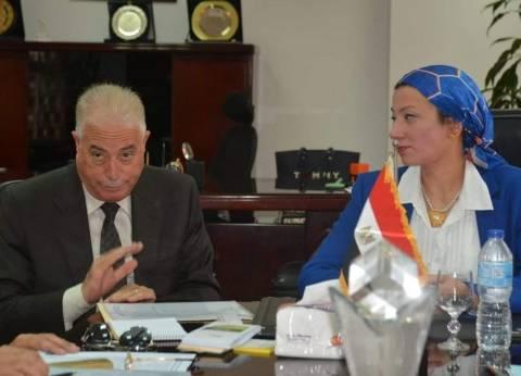 وزيرة البيئة تبحث مع محافظ جنوب سيناء تحويل شرم الشيخ لمدينة خضراء