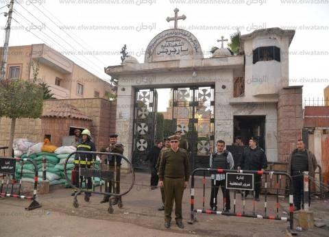 إجراءات أمنية مشددة حول 43 كنيسة ودير أثناء قداس عيد الميلاد بالدقهلية