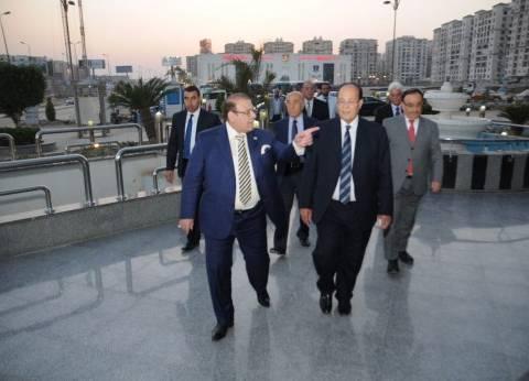"""وزير الرى الأسبق وأعضاء """"العربى للمياه"""" ضيوف حسن راتب في""""صالون المحور"""""""
