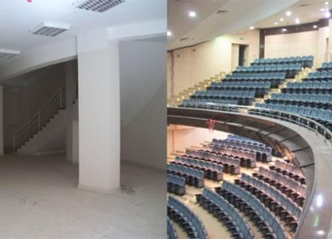 """محافظ المنوفية يناقش إنشاء """"قصر ثقافة"""" في منوف"""