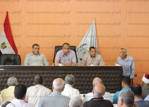 رئيس مدينة دسوق يناقش شكوى مواطن واحد بأول لقاء جماهيري في رمضان