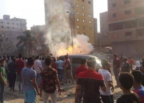 الحماية المدنية بالمنوفية تسيطر على حريق بمحل قبل امتداده لعقار
