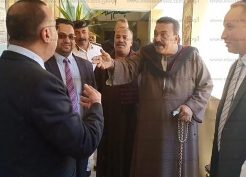 مدير أمن الإسكندرية يتفقد معهد الراشدين الأزهري لمتابعة الاستفتاء