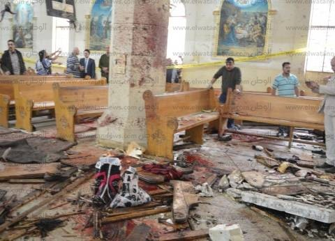 """""""الصحة"""": نقل جثة 14 شهيدا بتفجير """"كنيسة طنطا"""" إلى مستشفى الجامعة"""