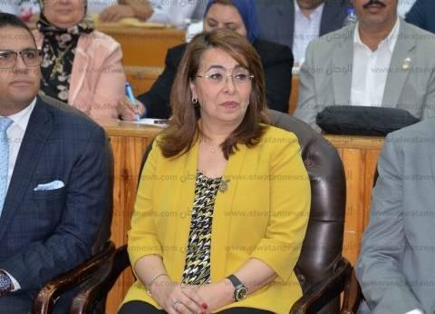 وزيرتا التضامن والصحة تزوران مصابي حادث المنيا