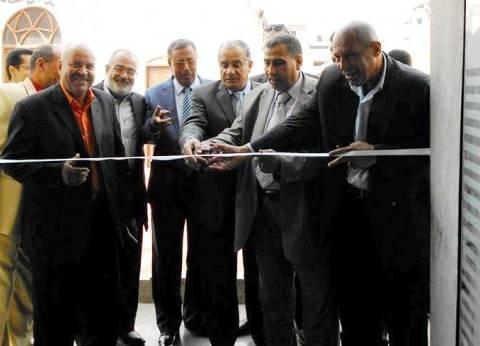 افتتاح مكتب بريد بعد تطويره بمدينة جهينة بسوهاج