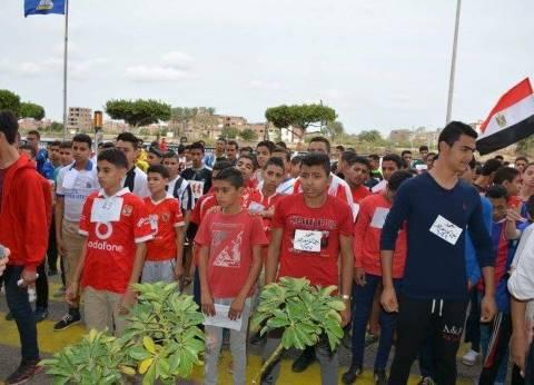 انطلاق بطولة إختراق الضاحية لطلاب المعاهد الأزهرية بدمياط