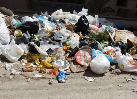 تراكم القمامة في شوارع طنطا بسبب إضراب عمال النظافة