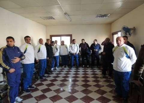 مدير أمن المنيا يتفقد عنابر إعاشة الضباط والمجندين