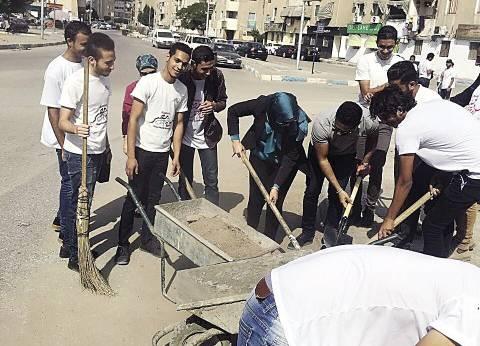 الإسماعيلية: «من أجل مصر» تنظم حملات نظافة وقوافل طبية