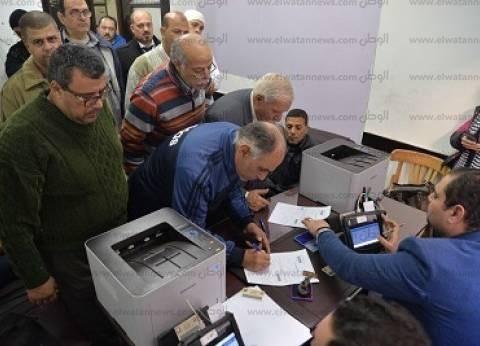 المئات يتوافدون على مكاتب الشهر العقاري لتحرير توكيلات لمرشحي الرئاسة