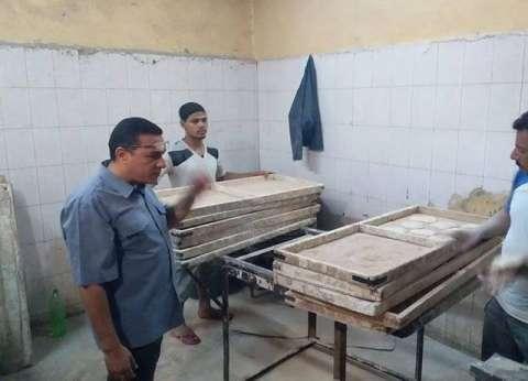 تحرير 17 محضرا لمخابز بلدية مخالفة بمركز ملوي في المنيا