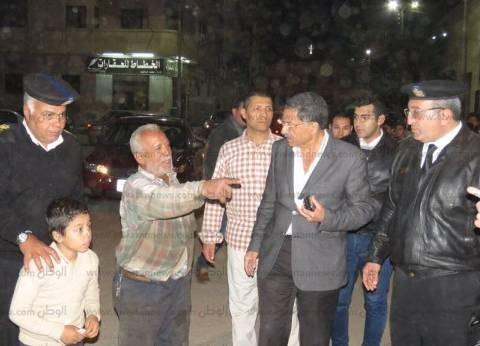 مدير أمن الإسماعيلية يتفقد ميادين المحافظة ويستمع إلي أراء المواطنين