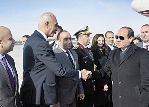 «السيسى» يطرح على قادة «ميونيخ» رؤية مصر لـ«العمل الأفريقى»