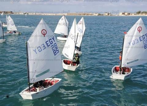 مطروح تستضيف تصفيات المنتخب الوطني للشراع على شاطىء كليوباترا