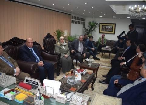 رئيس جامعة بنها: الأمن الذي ننعم به الآن بفضل تضحيات الجيش المصري والشرطة