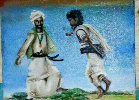 """""""رقصة الباقريب"""".. تراث الشلاتين في معرض الجزويت الثقافي"""