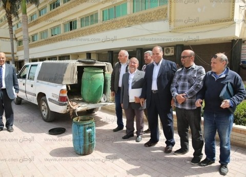 بالصور| ضبط نصف طن فسيخ فاسد في كفر الشيخ