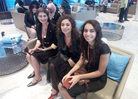 «سارة ولورا».. «بنتين من مصر» فى منتدى شباب العالم