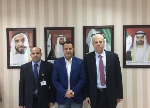 """مستشار رئيس جامعة أسيوط يلتقي بنظيره من """"العين الإماراتية"""""""