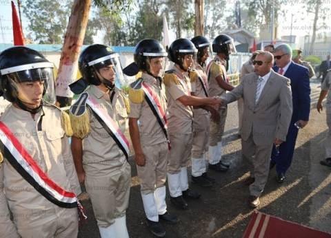 محافظ المنوفية ومدير الأمن يهنئان قوات الأمن المركزي بقويسنا بالأضحى