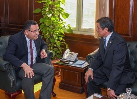 محافظ الإسكندرية يستقبل سفير أوزباكستان لبحث سبل التعاون بينهما