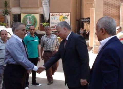 مدير أمن المنوفية يتفقد لجان امتحانات الثانوية العامة في شبين الكوم