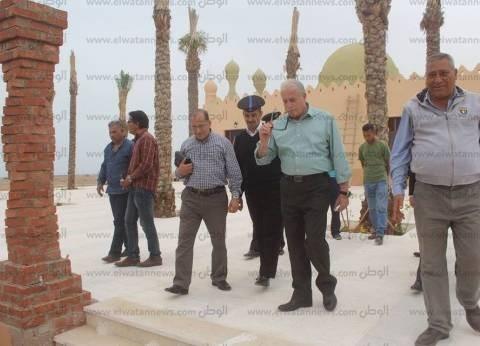 بالصور| جولة تفقدية لمحافظ جنوب سيناء في مدينة شرم الشيخ
