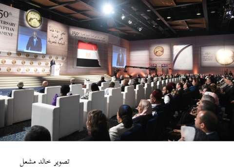 """رئيس الحكومة يلقي كلمة """"السيسي"""" في افتتاح أعمال جلسات البرلمان """"العربي- الإفريقي"""""""