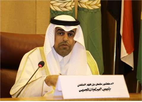 رئيس البرلمان العربي يدين الهجوم الإرهابي على كنيسة حلوان