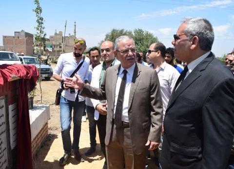 افتتاح كوبري الريرمون في المنيا بتكلفة 3 ملايين و165 ألف جنيه