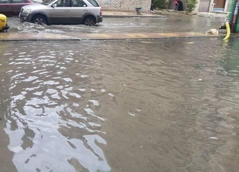 كهرباء الإسكندرية تراجع أعمدة الإنارة قبل أمطار الغد