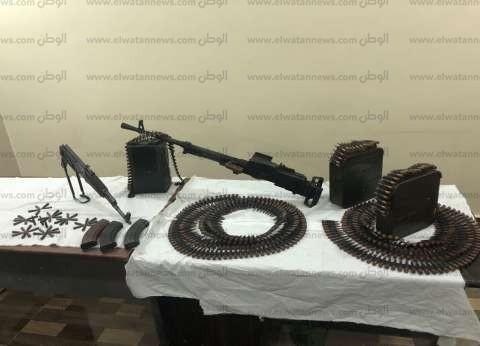 """""""أمن سوهاج"""" يضبط 28 قطعة سلاح غير مرخصة"""