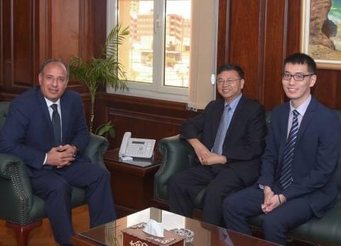 محافظ الإسكندرية يودع قنصل الصين ويشيد بدوره في توطيد العلاقات
