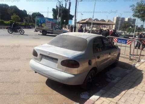 """""""أمن جنوب سيناء"""" ينجح في إعادة سيارة مسروقة تابعة لمديرية الصحة"""