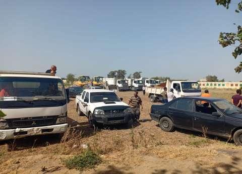 """""""أراضي الدولة"""": استرداد 23 ألف فدان أرض زراعية و1.7 مليون متر مبان"""