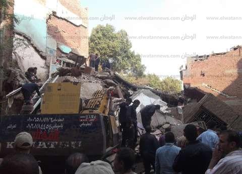 """انهيار منزلين دون خسائر بشرية في سوهاج.. و100 جنيه """"إعانة عاجلة"""" لكل فرد"""