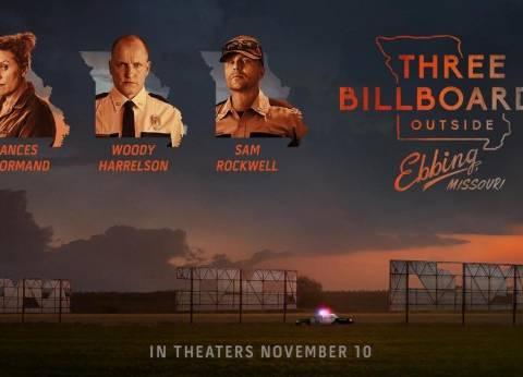 """""""Three Billboards Outside Ebbing"""" يفوز بجائزة """"جولدن جلوب"""" كأفضل فيلم"""
