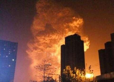 """ارتفاع حصيلة عدد الوفيات في انفجار """"تيانجين"""" بالصين إلى 44 قتيلا"""