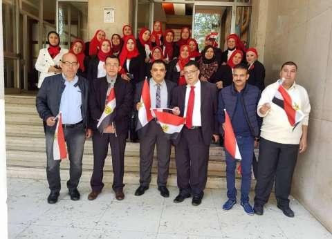 صور| الجالية المصرية في ميلانو تستعد للتصويت على التعديلات الدستورية