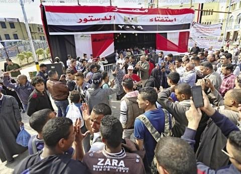 الحرية: الشعب المصري قدم نموذجا ديمقراطيا رائعا حتى نهاية الاستفتاء