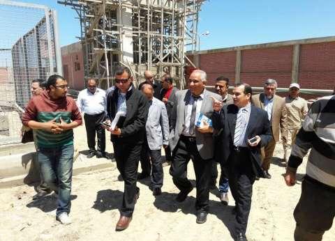 رئيس منطقة توزيع الكهرباء لمدن القناة يتفقد محطة ميناء شرق بورسعيد