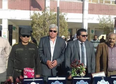 """""""عقل"""" يشهد حفل تكريم الأوائل بمدرسة الزهور الثانوية بطور سيناء"""