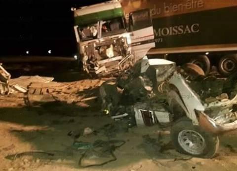 ارتفاع عدد الوفيات في حادث الطريق الدولي بدمياط لـ 4 أشخاص