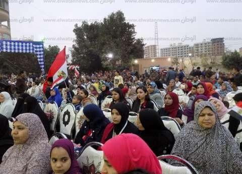 """""""معلمين أبو قرقاص"""" تنظم مؤتمر لدعم السيسي لفترة رئاسية"""