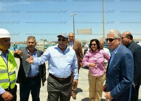 أعمال تطوير شاملة في ميناء الصيد بمدينة طور سيناء