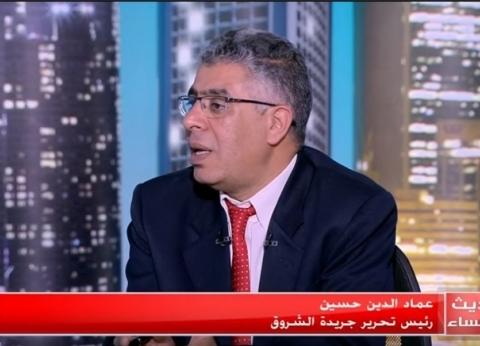 عماد الدين حسين: زراعة المناطق المحيطة بقاعدة محمد نجيب مهم للغاية