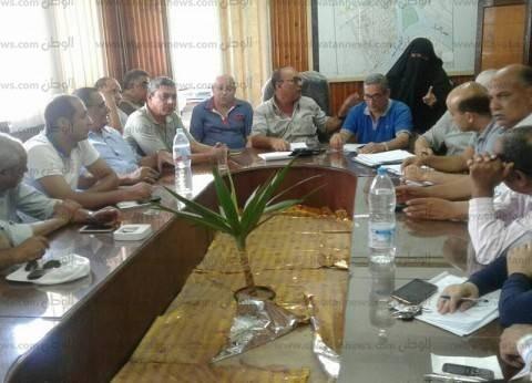 بالصور| رئيس مدينة فوة يناقش مشكلات المواطنين ويكلف بحلها