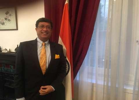 سفير دلهي: مهرجان الهند على ضفاف النيل أكبر تظاهرة ثقافية تقام سنويا
