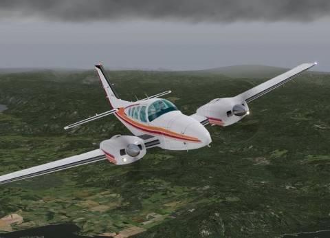 """""""أكاديمية الطيران"""": طائرة التدريب سقطت في الفيوم إثر عطل فني مفاجئ"""